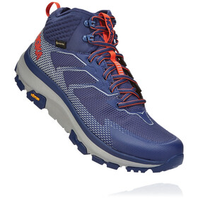 Hoka One One Toa GTX Boots Men patriot blue/mandarin red